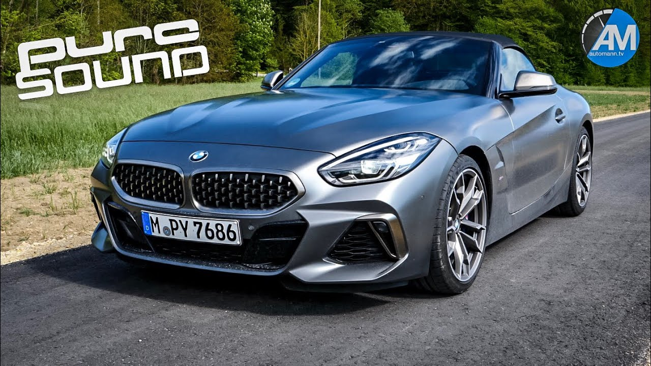 Bmw Z4 M40i 340hp Pure Sound Youtube
