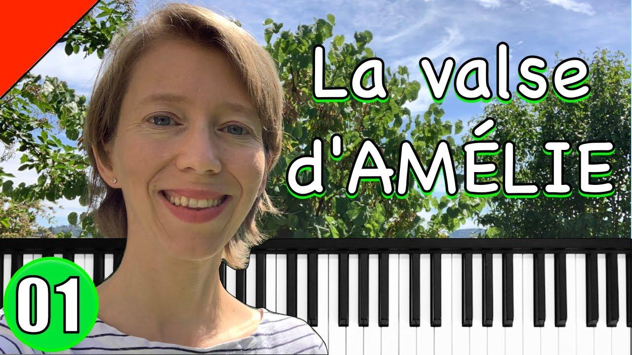 Yann Tiersen - La valse d'Amélie - Piano Tutorial #1
