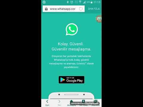 whatsapp da birini takip etme