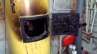Как чистить твердотопливный котел (камин) с помощью