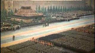 Парад Победы на красной площади 1945 года - часть 1