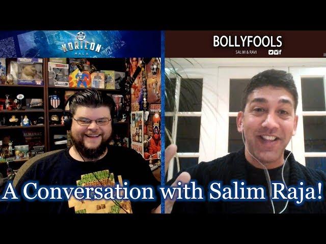 Creator Spotlight Ep 8 - A Conversation with Salim Raja! - BollyFools & Talking@TheMovies Podcast!