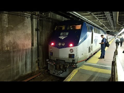 Amtrak: Empire Service Train 239 to Albany-Rensselaer @ Grand Central Terminal (7/12/17)
