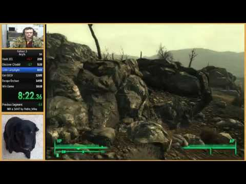 Fallout 3 Any% Speedrun In 15:56