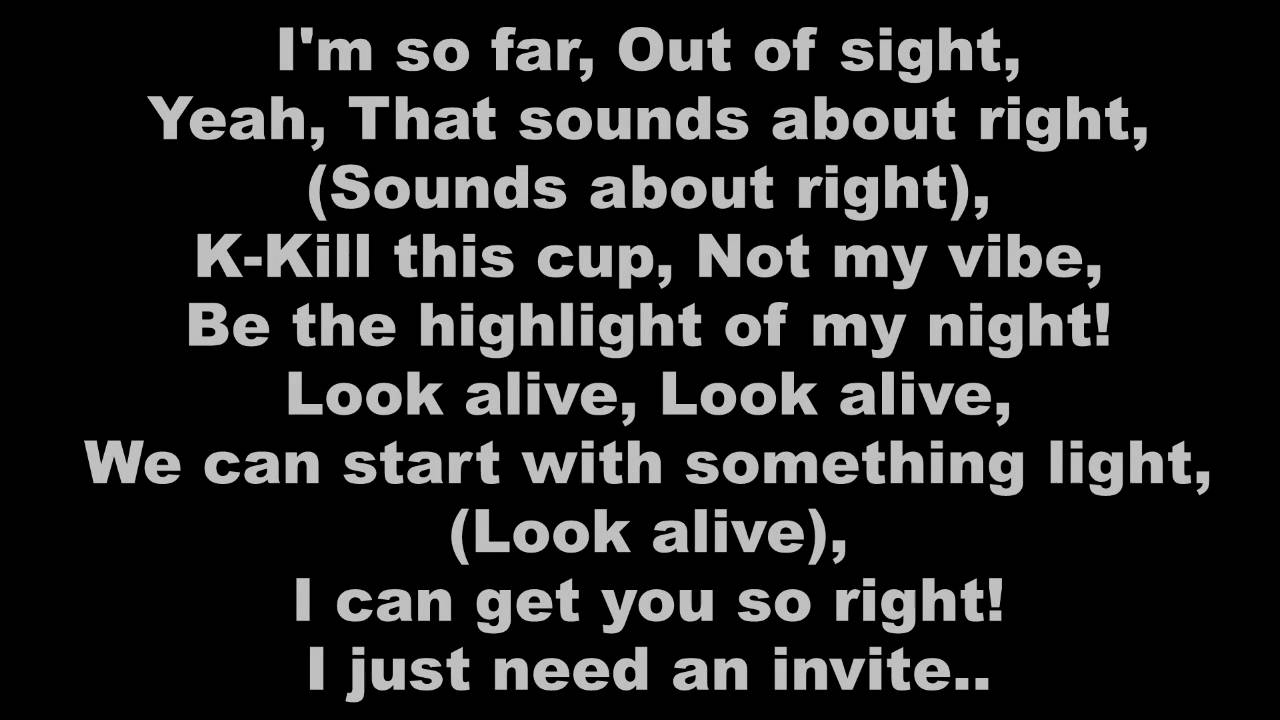 Rae Sremmurd - Look Alive (Clean w/ Lyrics)