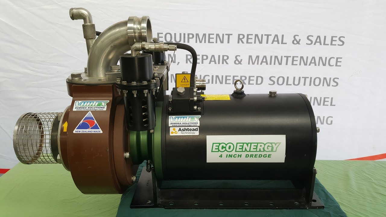 "Vortex 4"" Eco-Energy Electric Dredge - Rental & Hire"