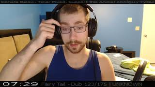 Fairy Tail Episode 123 Live Reaction [TIMESTAMP]