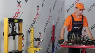 Montáž Zapalovacia sviečka MAZDA 323 F VI (BJ): video zadarmo