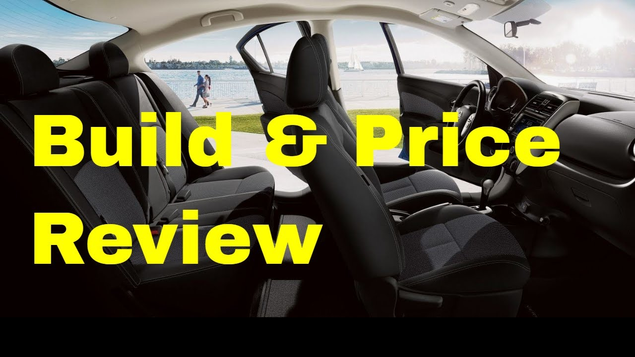 Nissan Build And Price >> 2019 Nissan Versa Sv Special Edition Build Price Review