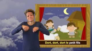 Chant de Noel en langue des signes pour les enfants