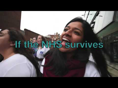 National Health Singers 'Yours' (sing along)