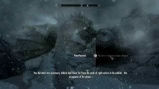 [Skyrim] Final Boss & Main Quest Ending (Dragonslayer)