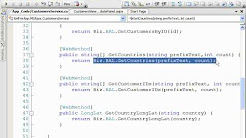 Using the ASP NET AJAX UpdatePanel Triggers and PageRequestManager by Dan Wahlin.wmv
