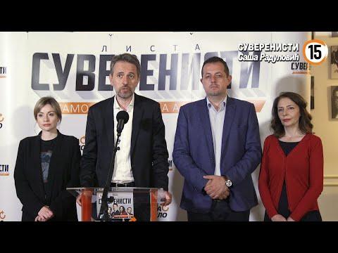 Saša Radulović: Rodila se nova politika, mi ne odustajemo!