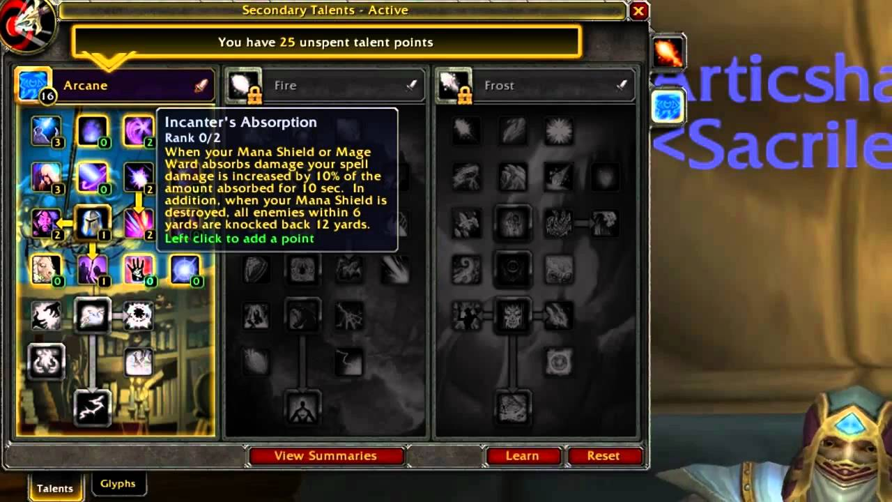 Wow Frost Mage Pvp Pve Talent Build – HD Wallpapers
