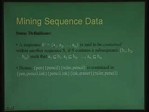 Lecture - 35 Data Mining and Knowledge Discovery Part II