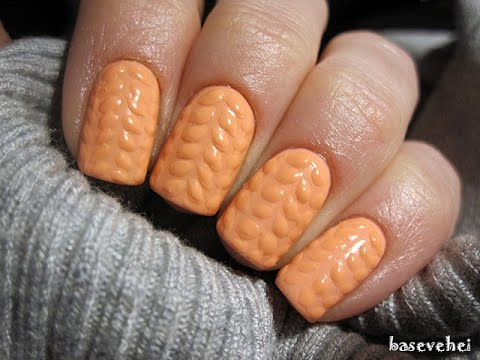 3d Knit Sweater Soak Off Nails Sweterek Na Paznokciach Semilac