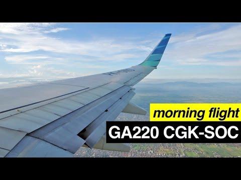 [FLIGHT REPORT] GARUDA INDONESIA GA220 JAKARTA-SOLO