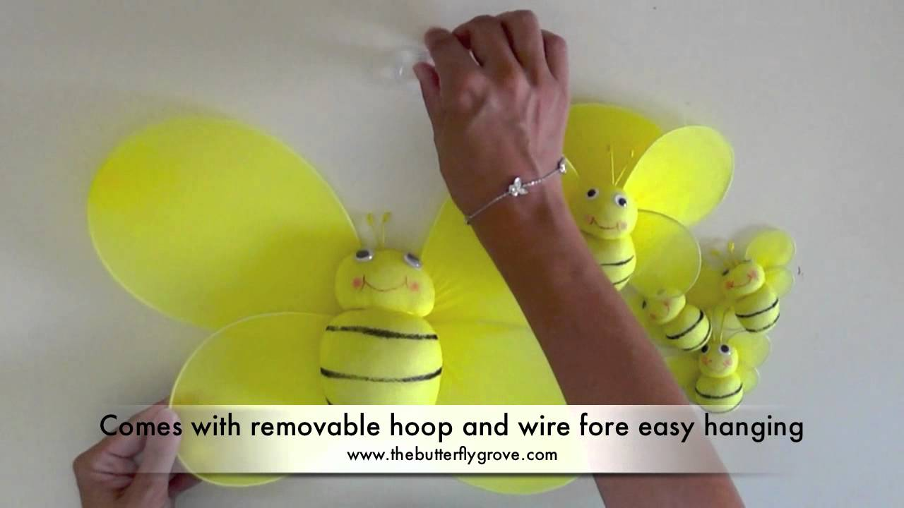 Bailey Bumble Bee Decoration - YouTube