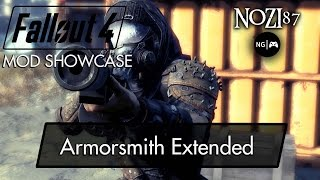 Скачать Fallout 4 Mod Showcase Armorsmith Extended By Gambit77