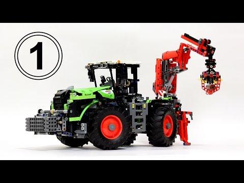 Лего Техник 42054 Трактор – Обзор 1 / Lego Technic 42054 Claas Xerion 5000 Trac VC...