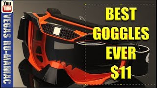 Best Dirt Bike Goggles I can find for the money - Amazing Deal