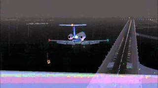 FS2004 - Landing in Fiumicino Airport (Rome - Italy) ICAO - LIRF