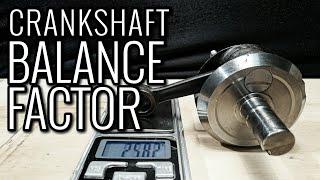 CRANKSHAFT BALANCING MADE EASY | Finding Crankshaft Balance Factor | 2 STROKE TUNING