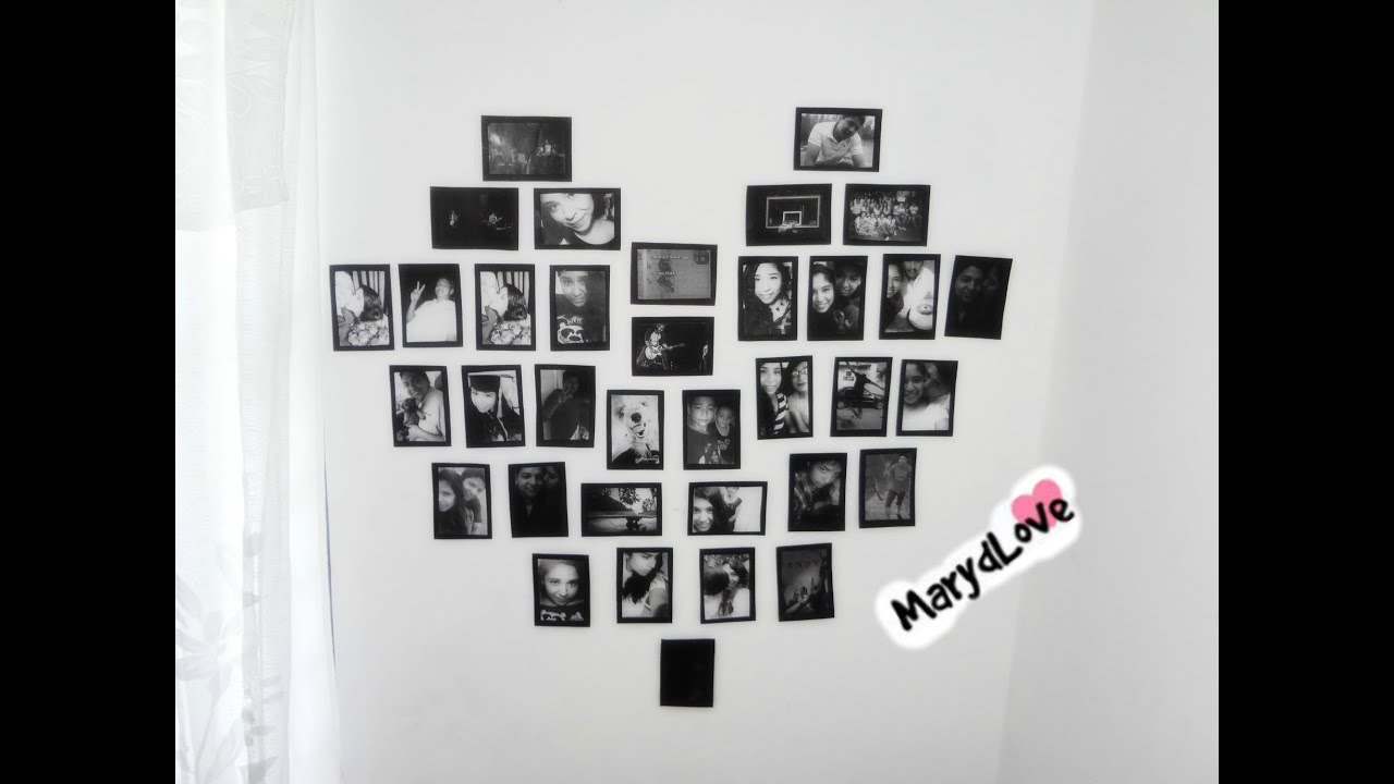 Diy decora tu cuarto facilisimo con fotos youtube for Ideas para decorar habitaciones con fotos