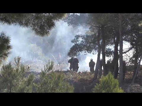 شاهد: مواجهات بين رجال الشرطة ومحتجين على بناء مخيمات جديدة للمهاجرين في اليونان…  - نشر قبل 16 ساعة