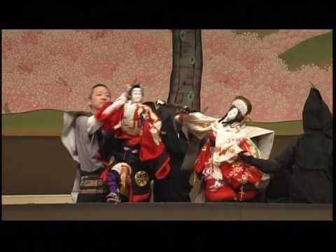 Bunraku puppet theatre