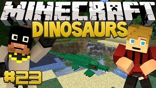 Minecraft Dinosaurs Mod (Fossils and Archaeology) Series, Episode 23 - What Has Ryan Done...