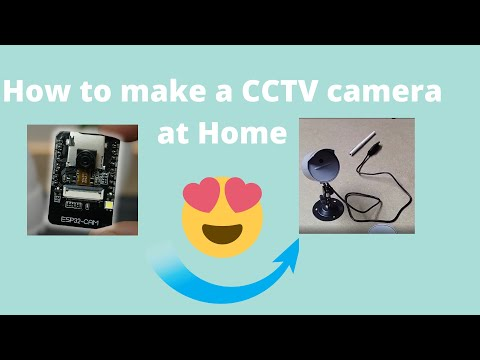 How to make a DIY Surveillence camera at Home