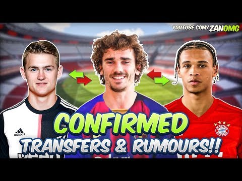 LATEST CONFIRMED TRANSFERS & RUMOURS 2019/20!! #6