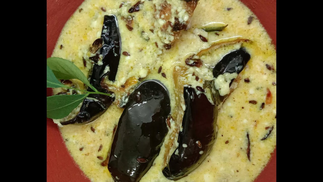 Dahi Baingan Recipe/ दही बैंगन/ ଦହି ବାଇଗଣ/sweet and sour brinjal dish/curd brinjal Recipe/Odiastyle