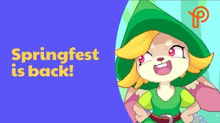 Prodigy Game | Springfest is back - PLAY NOW!