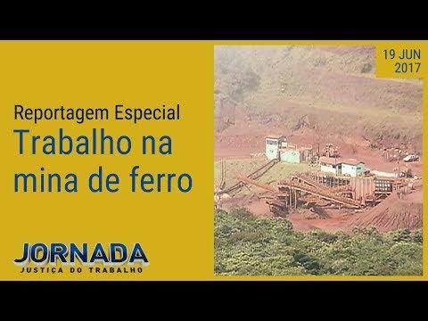 Reportagem Especial: Rotina de trabalho de uma mina de ferro