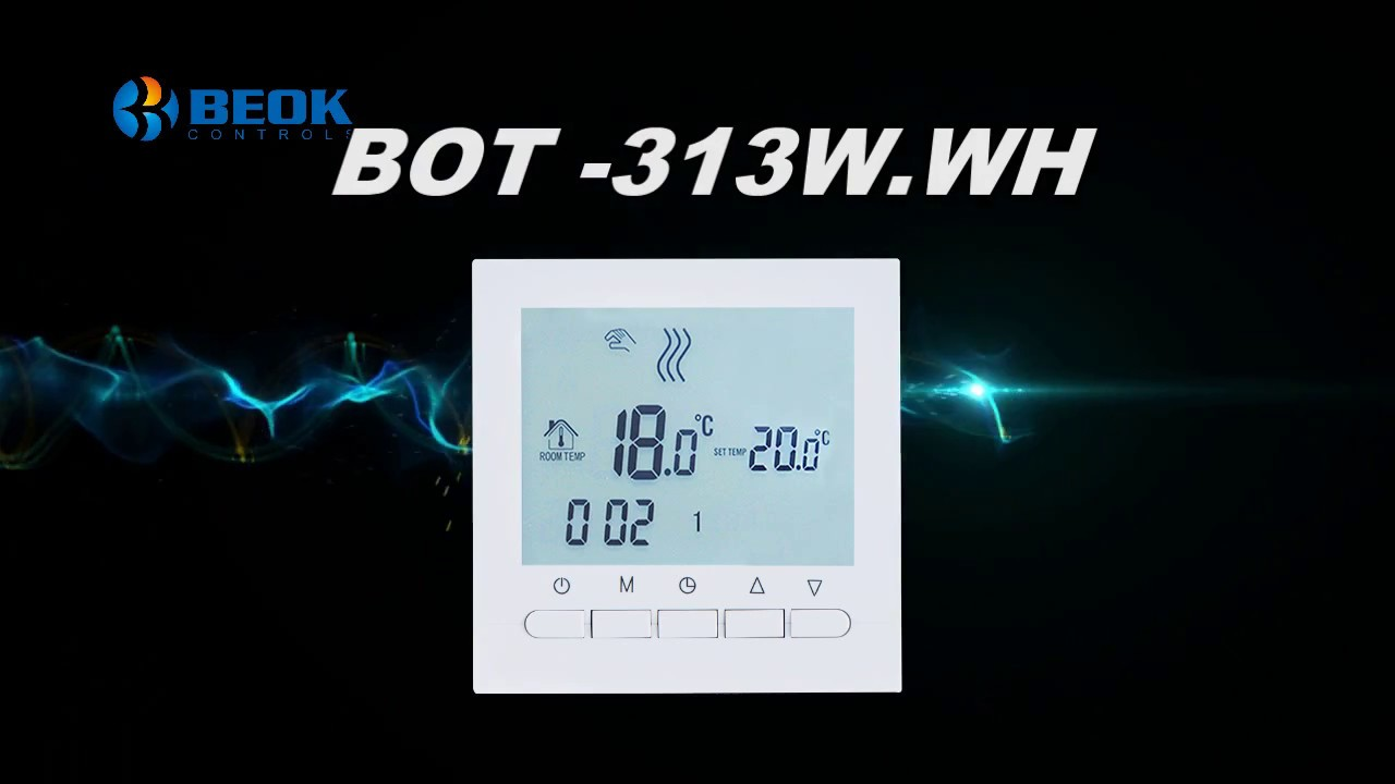 Digital Thermostat For Gas Boiler Heating System Product Display ...