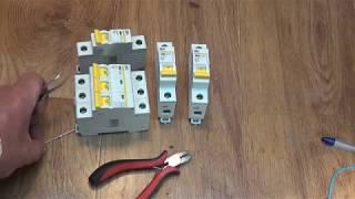Немного о автоматических выключателях