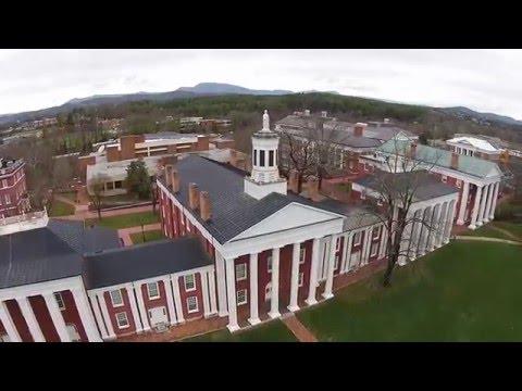 Drone Shots of Washington & Lee University and Lexington, VA