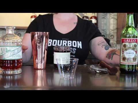 Whisky Chicks Happy Hour - Peerless Rye Manhattan