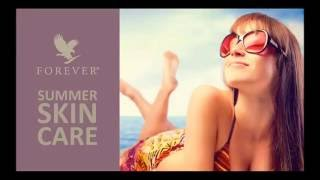 Forever Living: Aloe Vera Based Skin Care Products for Summer   New Product Training 2016