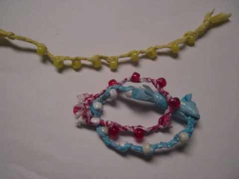 Plastic Bag Bracelet Jewelry