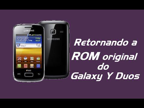 Como retornar a ROM original (2.3.6) no Galaxy Y Duos