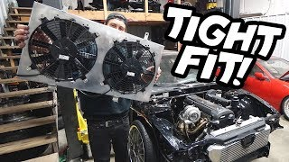 The PERFECT fit - New fans for the 1JZ SWAP!