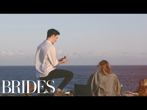 This Marriage Proposal Will Have You in Tears | BRIDES