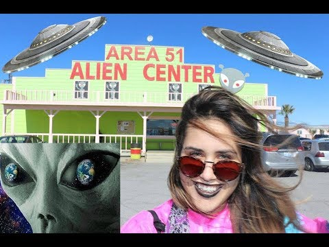 VISITING THE AREA 51 ALIEN CENTER IN AMARGOSA VALLEY, NV.