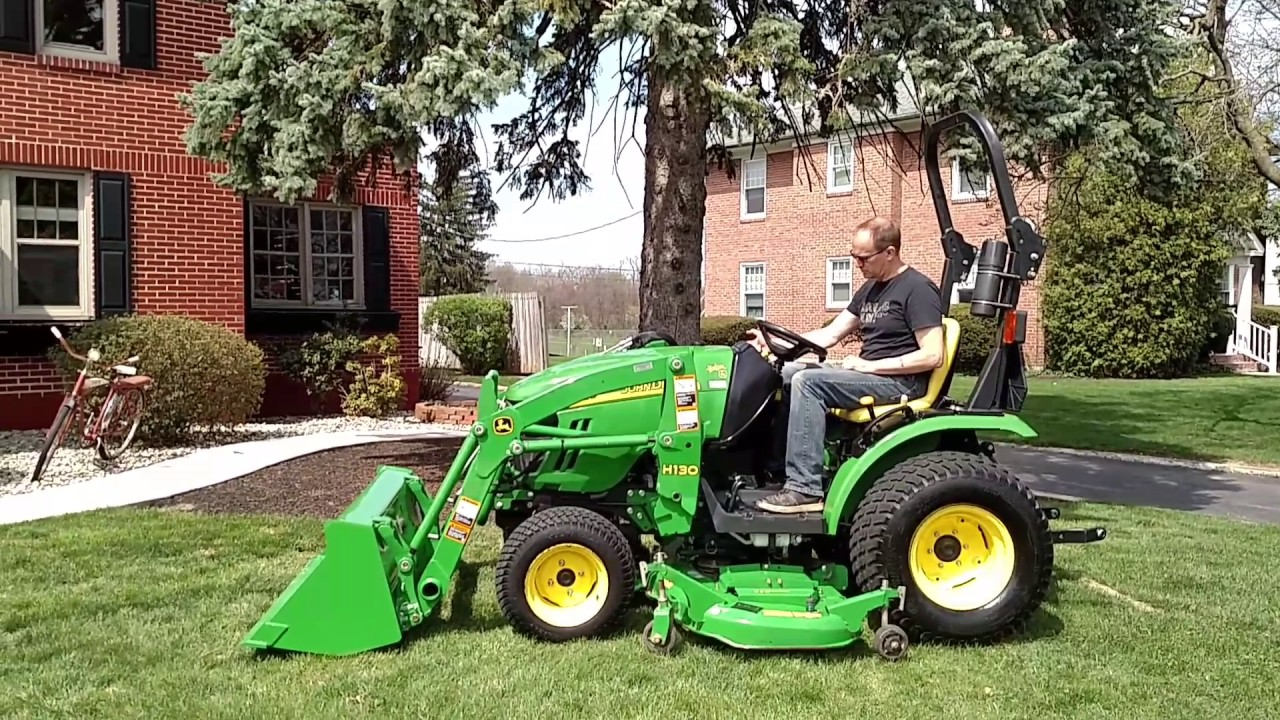 john deere 2320 tractor h130 loader 4wd for sale youtube. Black Bedroom Furniture Sets. Home Design Ideas