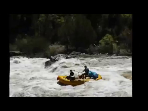 Snaggle Tooth Rapid Dolores River May 2017 4,000 cfs