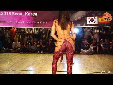 """Kizomba Open Korea"" Invitation Kizomba Queen ""Sara Panero""  Lady Styling Solo Performance"